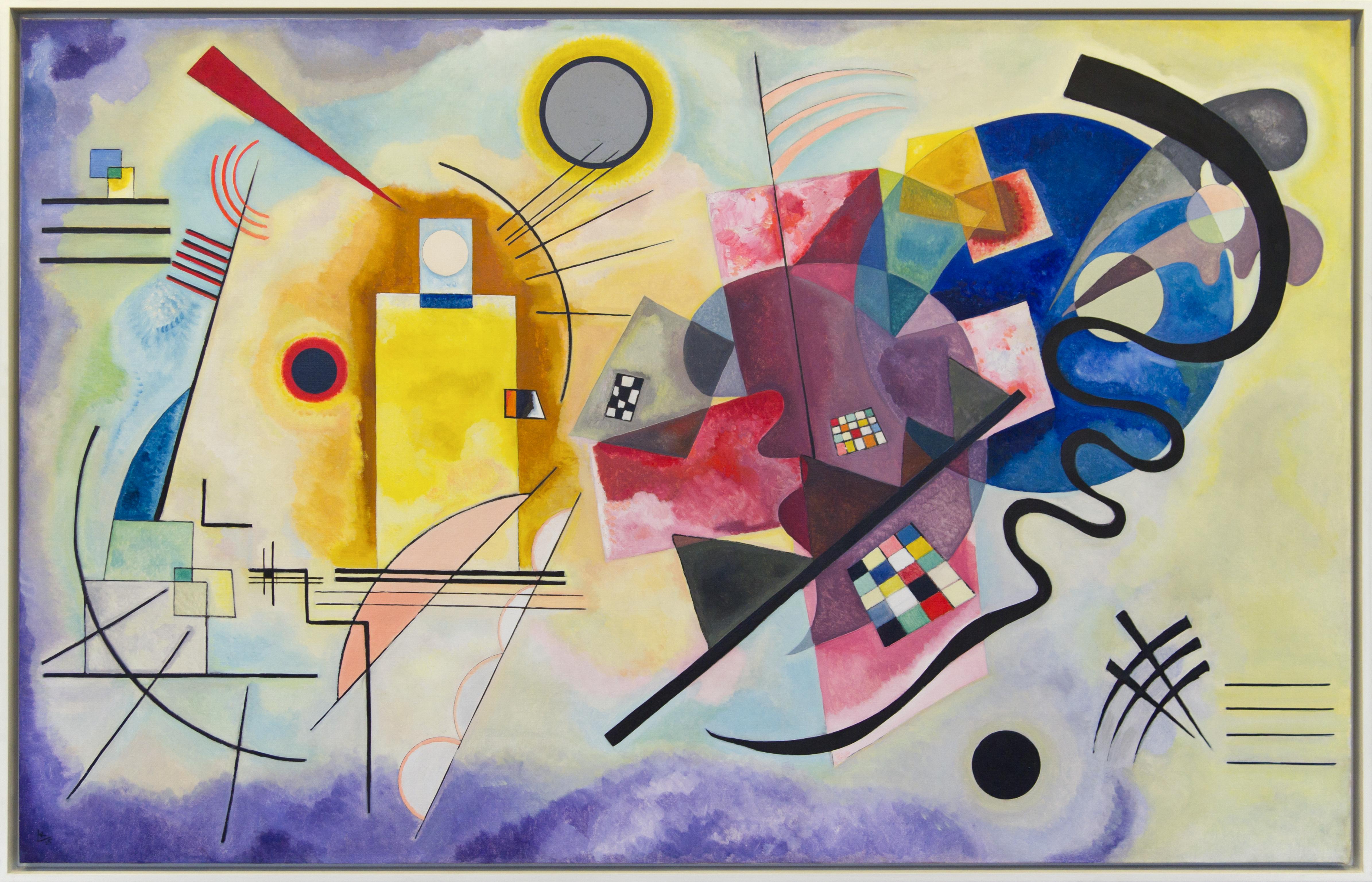 Философия и практика в абстрактной живописи: образ цветка в композиции
