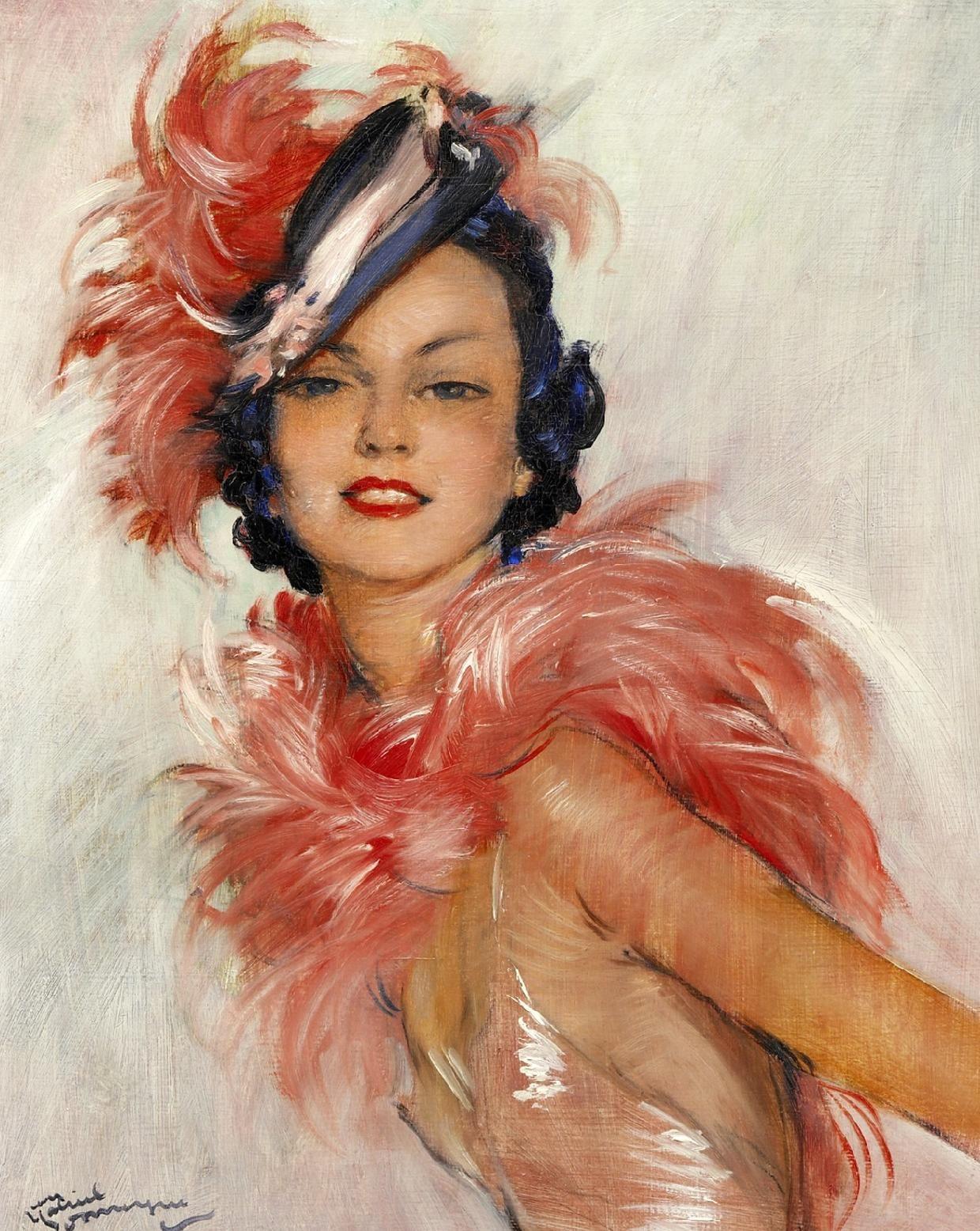 Портретная живопись: работа с моделью