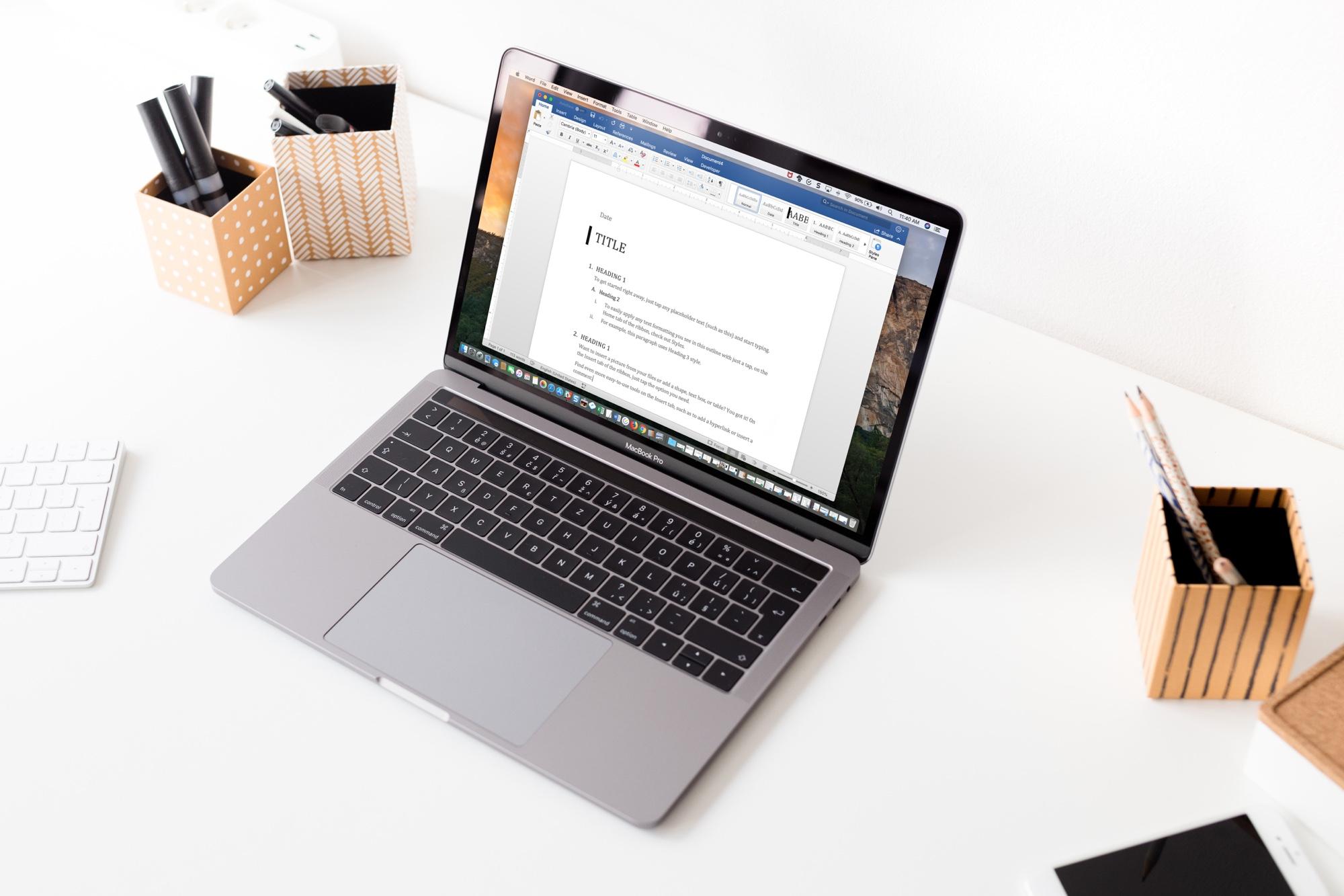 MS Word - профессиональная работа с документами