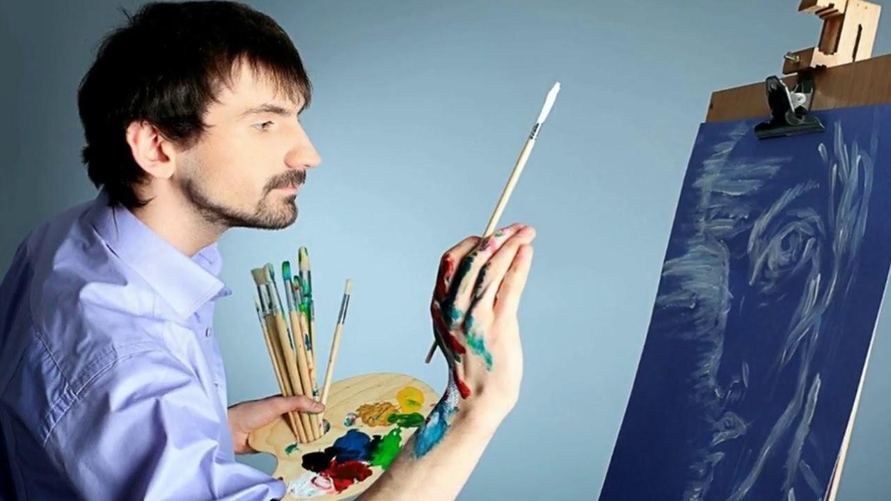 Творческий поиск и самообразование художника