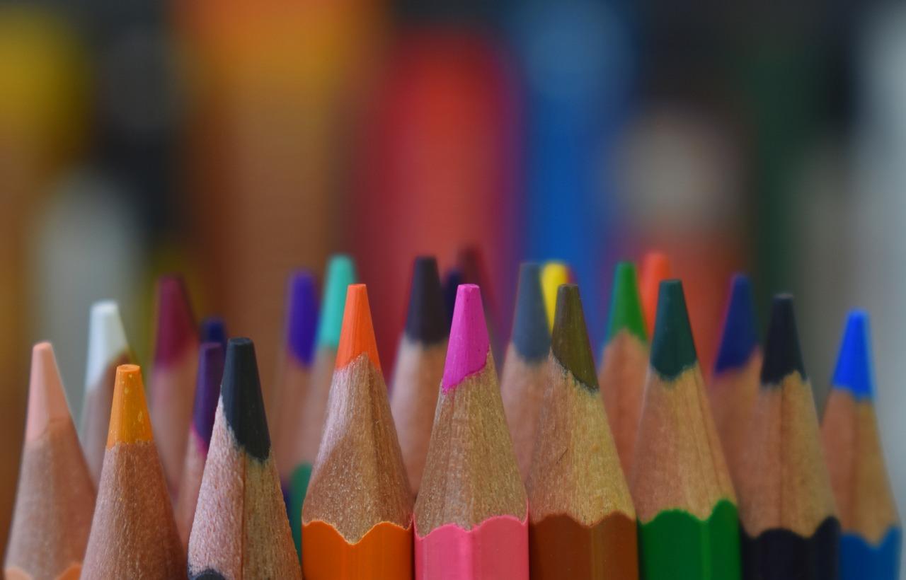 Цветные карандаши. Эмоциональные пейзажи. Часть 1