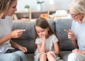 Основные ошибки в воспитании детей. Поведение и наказание детей