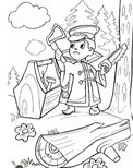 Раскраска Вовка Раскраски из мультфильма Вовка в тридевятом царстве Дитячі розфарбовки размалевки розмальовки для дітей
