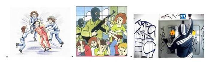 вопрос теста Признаки терроризма
