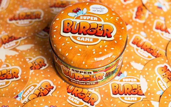 настольная игра супербургер
