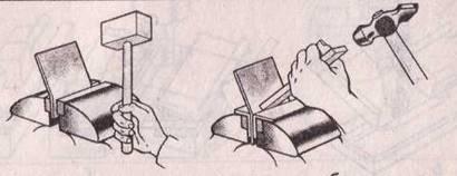 Урок 46-47 - Вопросы: Клин должен выступать над крышкой стола на высоту, меньшую, чем высота. (заготовки)