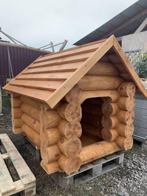 Будка для собак зруб дерев'яний ( брус , рейка , доска): 6 900 грн ...
