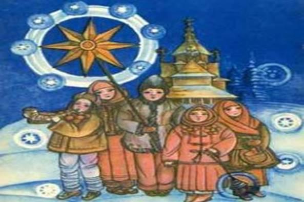 Рождественский сценарий (праздник на улице)