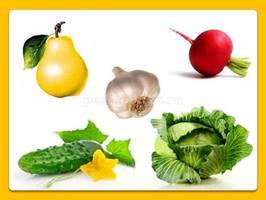 Дидактические игры для дошкольников 4-6 лет на тему: Фрукты, овощи ...