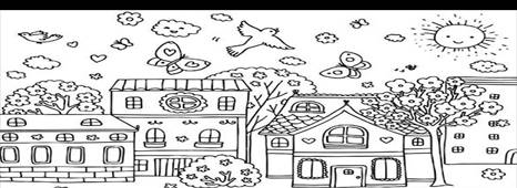 http://www.kidsplaycolor.com/wp-content/uploads/2014/05/Spring-Season-at-Village-Coloring-Page.jpg