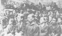 Митинг на Металлическом заводе 22 июня 1941 г.