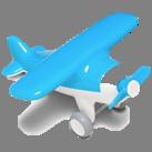 Первый самолет. Игрушечный самолет (цвет голубой) Kid O: продажа ...