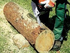Скамейка из бревна своими руками - инструкция по изготовлению