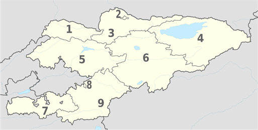 https://upload.wikimedia.org/wikipedia/commons/thumb/8/84/Kyrgyzstan%2C_administrative_divisions_-_Nmbrs_-_monochrome.svg/2000px-Kyrgyzstan%2C_administrative_divisions_-_Nmbrs_-_monochrome.svg.png