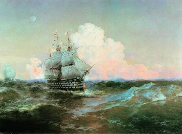 """Корабль """"Двенадцать апостолов"""", 1897"""