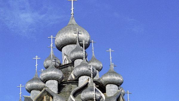 Преображенская церковь. Кижи.