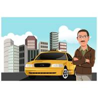 the-taxi-driver-vector