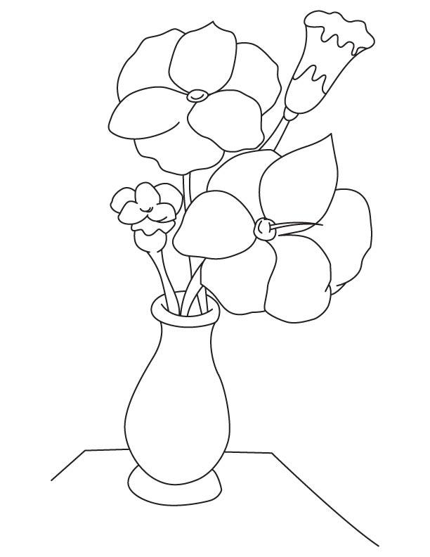 среди работ картинка цветы нарисовать в вазе этой статье