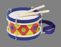 Барабан - история и описание игрушки