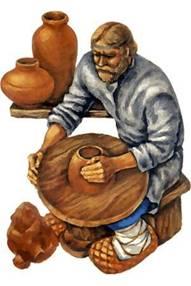глина ремесленник гончар