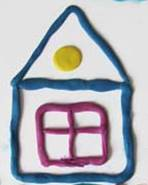 Картинки по запросу картинка домик из пластилина
