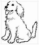 "Картинки по запросу ""собака раскраска"""
