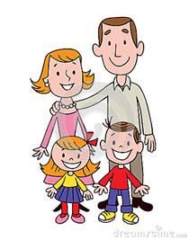 Картинки по запросу картинки семьи нарисованные