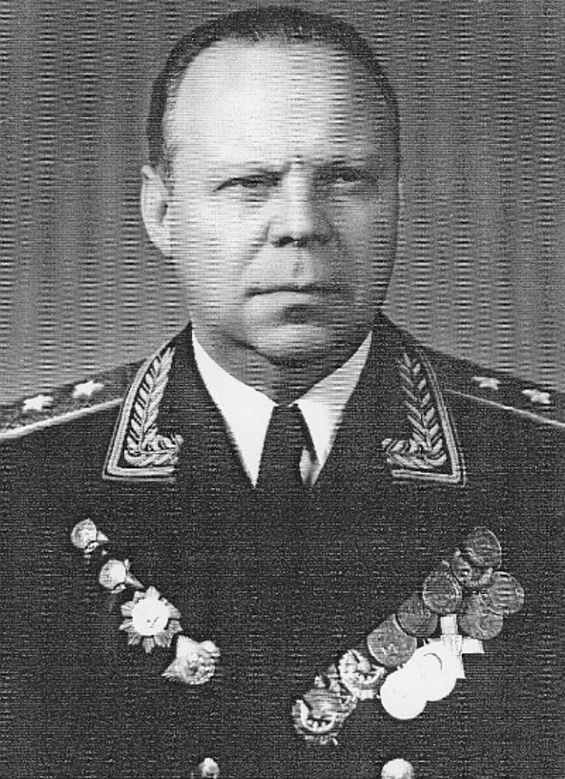 генерал-майор Николай Михайлович Трусов