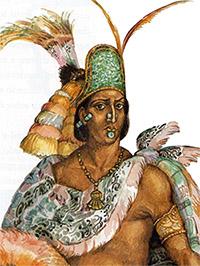 Вождь ацтеков Монтесума