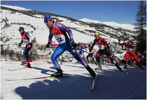 Описание: Лыжный спорт. История лыжного спорта. Виды лыжного спорта фото 1