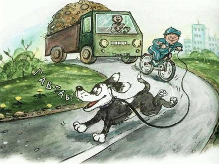 детям о безопасности на дорогах