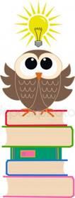 Смарт-сова — стоковый вектор