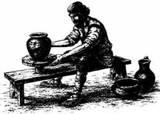 Картинки по запросу гончарное ремесло на руси картинки