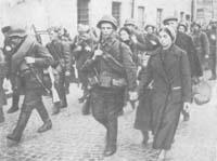 Ополчение уходит на фронт. Сентябрь 1941 г.