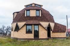 крыша с купольной формой