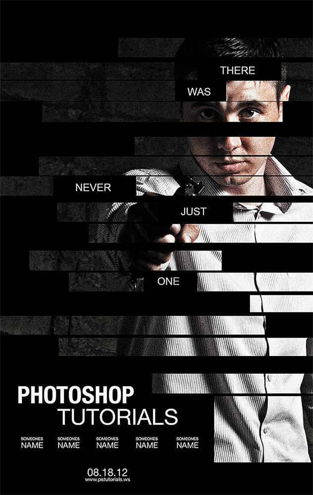 Постер из фото уроки