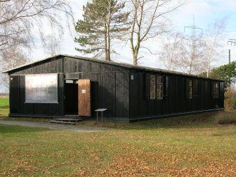 Zeithain Memorial Grove, former camp hut, Archives of the Zeithain Memorial Grove.