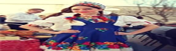 Праздничные костюмы на Масленицу, Россия