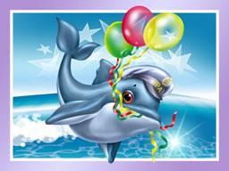 Скачать С днем рождения картинки море 1024x768 px
