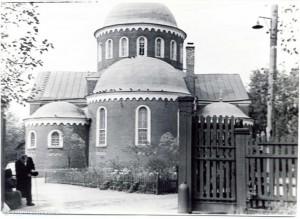 Храм в 1971 году