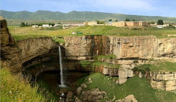 Водопад Толбот в Дагестане