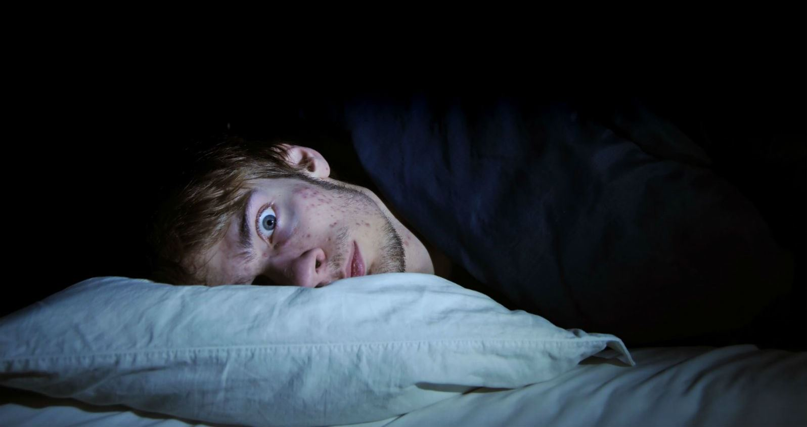 Не спит ночью