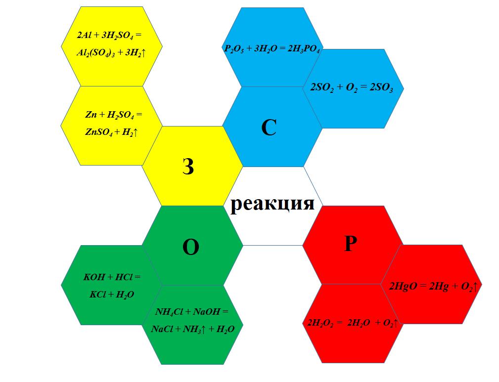 Составленный разноцветный гекс