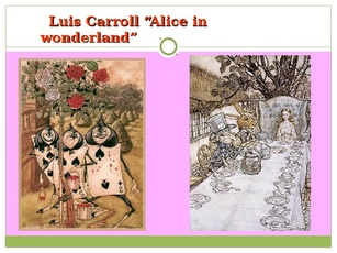 an analysis of the writings of louis carrolls art Lewis carroll is remembered for his long fiction, the children's classics alice's adventures in wonderland (1865) and through the looking-glass and what alice found there (1871) immediate.