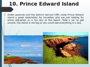 prince edward island essay essay Essays in the history of canadian law two islands: newfoundland and prince edward island (review) sean t cadigan the canadian historical review, volume 87, number 4, december 2006, pp.