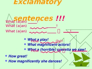 exclamatory essay Unit 3: explanatory essay lesson 13 of 15 objective: swbat to use peer feedback by getting advice on all of the different components of the explanatory essay.
