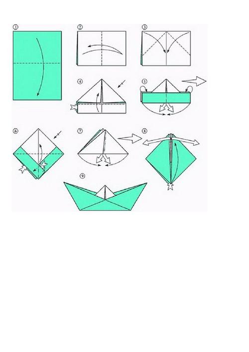 Как сделать своими руками корабль из бумаги