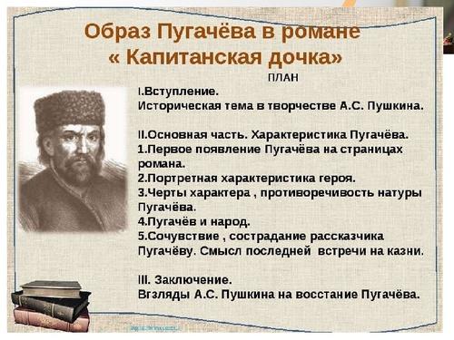 Образ пугачёва (чтение эпизодов романа а с пушкина капитанская дочка)