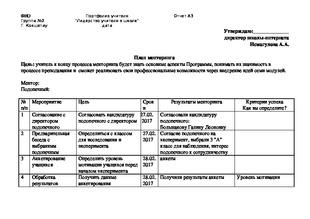 А docx Рефлексивный отчет о реализации процесса Знанио Рефлексивный отчет о реализации процесса менторинга с одним из коллег