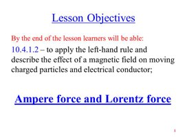 PHY_10_55_V2_P_Ampere force. Lorentz force